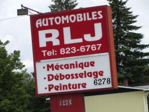 Automobile RLJ