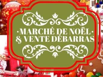 2e édition du Marché de Noël & Vente-débarras à l'école Alfred-Desrochers