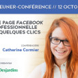 Déjeuner-conférence : une page Facebook professionnelle en quelques clics