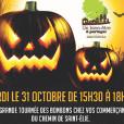 Halloween à partager - Chemin de Saint-Élie UNE