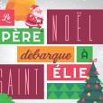 Le Père Noël débarque à Saint-Élie - Image à la une