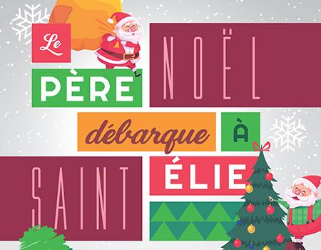 Le père Noël débarque à Saint-Élie pour une 8e édition !