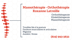 Massothérapie – Orthothérapie Roxanne Latreille