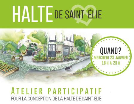 Imaginons la future Halte de Saint-Élie !